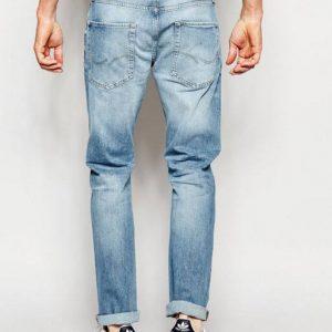 Jack & Jones Light Wash Jeans in Straight Fit